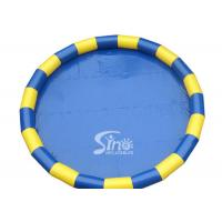 Wholesale Portable Round Inflatable Swimming Pool Made Of 1150g/m2 PVC Tarpaulin from china suppliers
