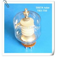 Buy cheap High Frequency Vacuum Electron Glass Tube 5867A For Industrial HF Heating from wholesalers