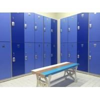 Wholesale Durable / Lightweight Blue Office Storage Lockers H2000 × W933 × D450mm from china suppliers