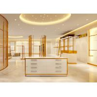 Wholesale Luxury Stainless Steel Store Display Fixtures For Women Clothing Shop from china suppliers