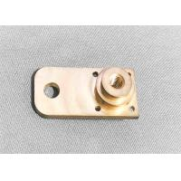 Wholesale Brass High Precision Machined Parts Shaft Support Block Long Lifespan from china suppliers