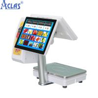 China Touch Screen POS Scale With Best Price,PC Scale,Electronic Scale,Balance,Electronic Balance on sale