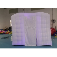 Wholesale Outdoor Air track Sport LED Light Inflatable Square Advertising Tent For Hot Yoga Exercise from china suppliers