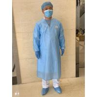Wholesale Long Sleeves Protective Disposable Surgical Gowns , Non Woven Surgical Gown from china suppliers
