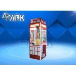 China Attractive Claw Crane Game Machine / Crane Toy Vending Machine for sale