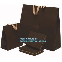 China fashion design boutique shopping bagshihg quality luxury carrier bag/pp non woven lamination bag,Printed Packaging Paper on sale