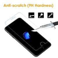 Wholesale Easy Installation iPhone Tempered Glass Screen Protector Shatter Proof 9H Hardness from china suppliers