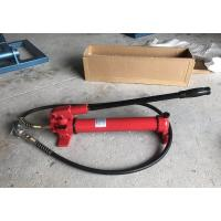 China CP-700 Manual Hydraulic Oil Pump , Protable Hydraulic Hand Pump Steel Material on sale