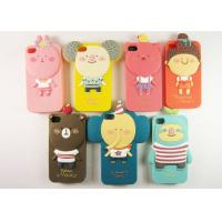 China iPhone 4 / 4G / 4S Silicone Cell Phone Cases Cute Romane II Heat Transfer on sale