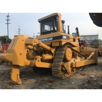 Single Ripper Used Caterpillar Dozers D8n 306hp Rated Power In Yellow Color for sale
