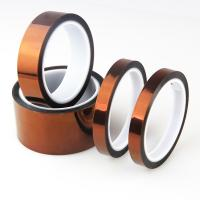 China Insulation Silicon Anti Static Kapton Polyimide Tape For PCB Protection for sale