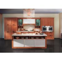Traditional / Classic Design PVC Kitchen Cabinets Free Standing European Style