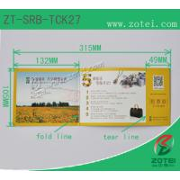 Wholesale RFID folding ticket ( Product model: ZT-SRB-TCK27) from china suppliers