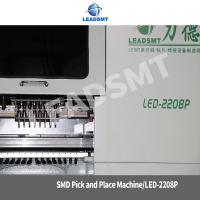 Quality smd led pcb assembly machine ,led pick and place machine with nozzle heads for sale