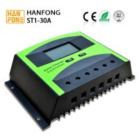 China LCD Display 12V / 24V PWM Solar Power Controller For Solar System Charge Cotroller for sale