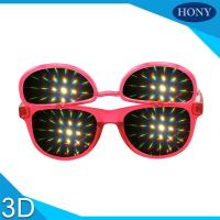 Best PH0028 Flip Up  Diffraction  Glasses With CE FCC RoHS Strong Effect Glasses wholesale