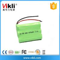 China 3.6V nimh rechargeable battery packs on sale