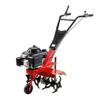 Wholesale 5hp Mini tractor Farm Gasoline Tiller multifunction manual digger cultivation tiller from china suppliers