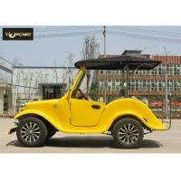 China Classical 4 Seater Luxury Antique Battery Operated Golf Buggy Plastic Bodywork for sale