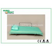 China Blue Disposable Non Woven Bed Sheets for Hospital Clinic Beauty Center Use on sale