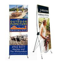 Wholesale Advertising x banner standing banner promotional display economic printing x-banner from china suppliers