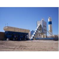 Buy cheap High performance and low price Twin Shaft Mixer HZS75 75m3/h concrete mixing plant from wholesalers