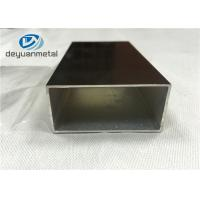 Wholesale Champagne Anodized Standard Aluminium Profiles With Maximum 6.8 Meters from china suppliers