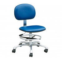 Wholesale Adjustable Pneumatic Rod Conductive 109 Ohm ESD Lab Chairs from china suppliers