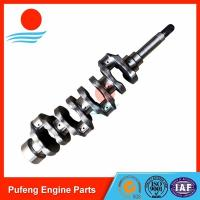 Wholesale forged Caterpillar crankshaft C2.4 C2.2 for wheel loader excavator 312D 315DL 903C from china suppliers