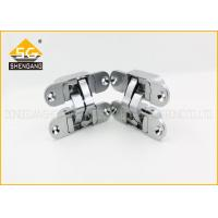 China Italian Removable One Way Invisible Hinge Of  Swing Door And Flat Open Door on sale