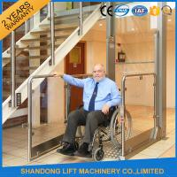 China Wheelchair Hydraulic Platform Lift with Powder Coating Stainless Steel / Aluminum Alloy Material on sale