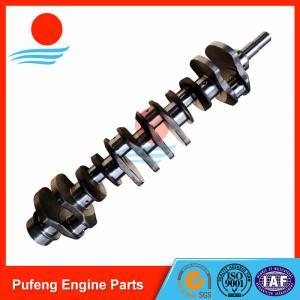 Wholesale forged steel 6D110 crankshaft 6136-31-1010 6138-31-1010 6138-31-1110 for PC300-5 PC300-6 PC280-3 WA350-1 WA400-1 WA420-1 from china suppliers