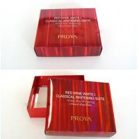 Wholesale Personalized Red Presentation Gift Cardboard Boxes with Lid for Wedding from china suppliers