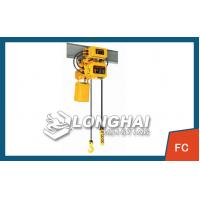 China 20T chain electric hoist [single speed electric chain hoist] on sale
