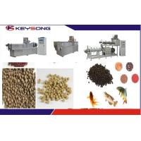 Wholesale Floating Sinking Fish Food Feed Making Machine Fish Feed Extruder Adjusted Voltage from china suppliers