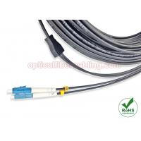 Wholesale Flexible Armored Cable , 4 / 6 / 12 Cores Armored Fibre Optic Patch Leads from china suppliers