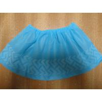 Wholesale Indoor Carpet Protector Disposable Shoe Covers Blue / Green Color Light Weight from china suppliers