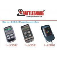 Wholesale one way  LED / LCD remote  car alarm remote controllers one way LED /LCD remote from china suppliers
