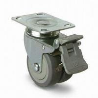 Wholesale Caster Wheel with 75mm Outside Diameter, Made of PUP/TPR, Ideal for Industrial Use from china suppliers