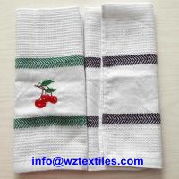 Wholesale Cheap Cotton Waffle Weave Dish Cloth from china suppliers