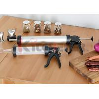 Wholesale Two Nozzle Plastic Jerky Blaster Non Corrosive Tube With Heavy Duty Drive / Handle from china suppliers