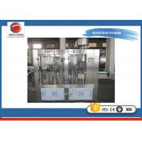 Small PET Plastic Bottle Filling Machine 3KW , 2000bph Automated Filling Machine