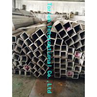 Cheap Rectangular Welded Steel Tube , ASTM A554 Welded Stainless Steel Mechanical Tubing for sale