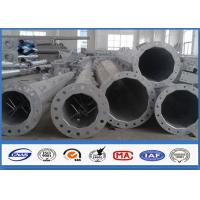 Wholesale 66KV Galvanized Electrical Transmission Steel Utility Poles With Zinc Coating from china suppliers