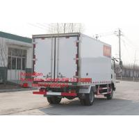 Sinotruk Howo7 10T Refrigerator Freezer Truck 4x2 For Meat And Milk Transport for sale