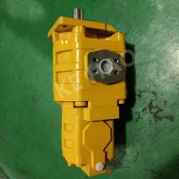 China Yellow Cat Skid Steer Hydraulic Pump / Aluminum Gear Pump Compact Structure for sale
