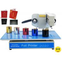 150w AMD-3025 Digital Hot Foil Printer , Foiling Machine For Cards / Certificates for sale