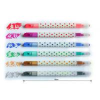 Wholesale Erasable Multi Color Highlighter , Fluorescent Marker Pen from china suppliers