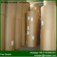 C2S Coated Art Paper For Digital Printing Machine for sale