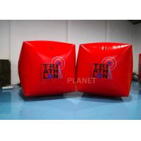 Buy cheap 1.5M Cube Race Marker Inflatable Water Buoys For Water Sports Event from wholesalers